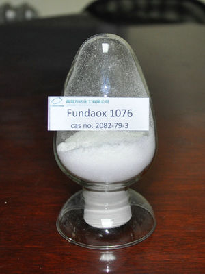 China Fundaox 1076 Phenolic Antioxidants With CAS No. 2082-79-3 , Low Volatility supplier
