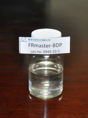 China BDP Halogen Free Flame Retardant For HIPS , PC / ABS 5945-33-5 supplier